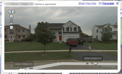 Google map street view our house i was shocked to find for See images of my house