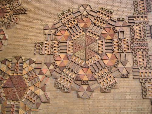 Brick Art The Brick Wall Art Of The Frank Forward