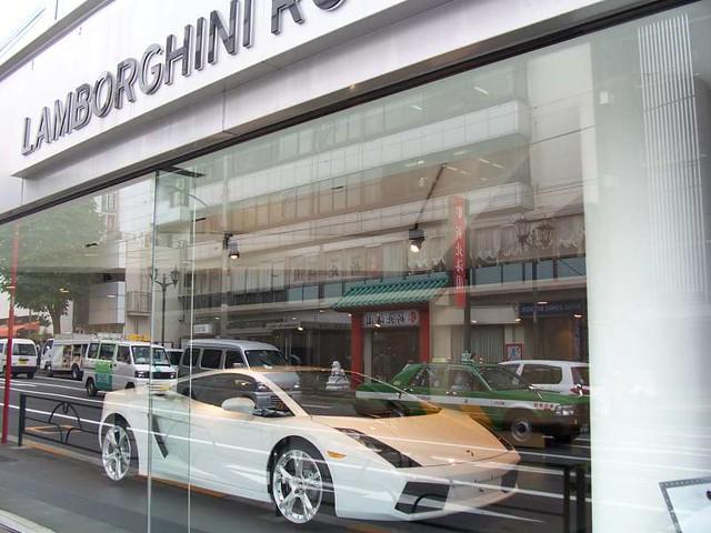 Lamborghini Dealership In Roppongi Tokyo James Willamor
