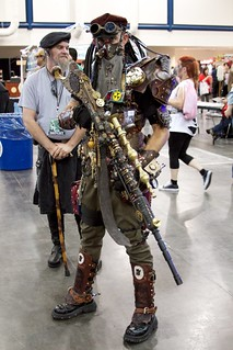 Awesome steampunk  costume!!! | by Isidro Urena .