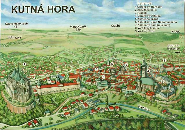 Kutn 225 Hora Czech Republic Map From Radekcz2003 Cz Flickr