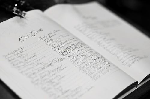 unique guestbook