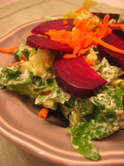 roasted_beet salad | by tofu666