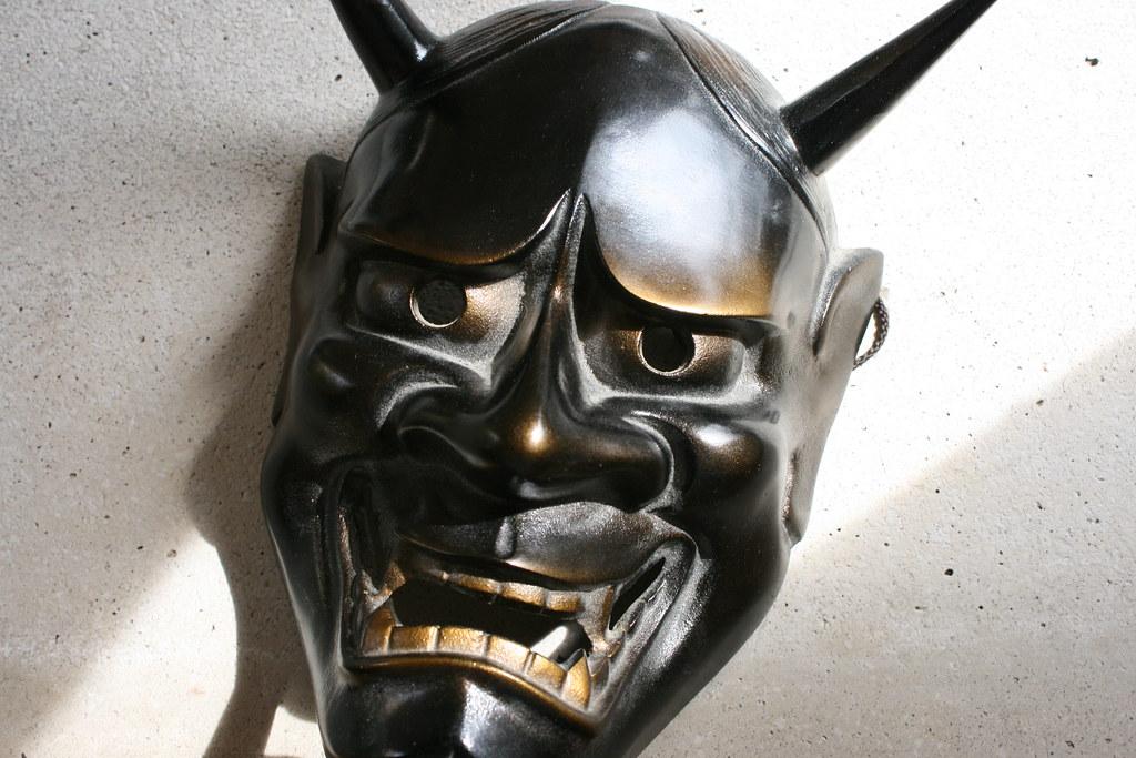 Kabuki Mask - Noh , Oni(Hannya) | bought in asakusa temple ...