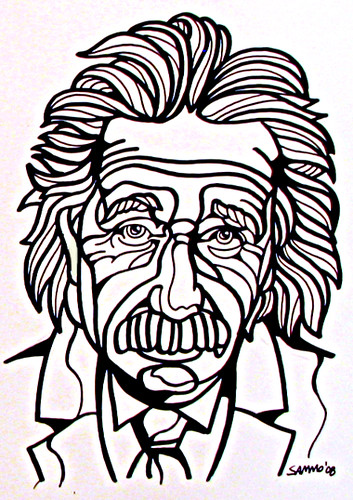 Line Drawing Etsy : Einstein new line drawing soon to be added my etsy