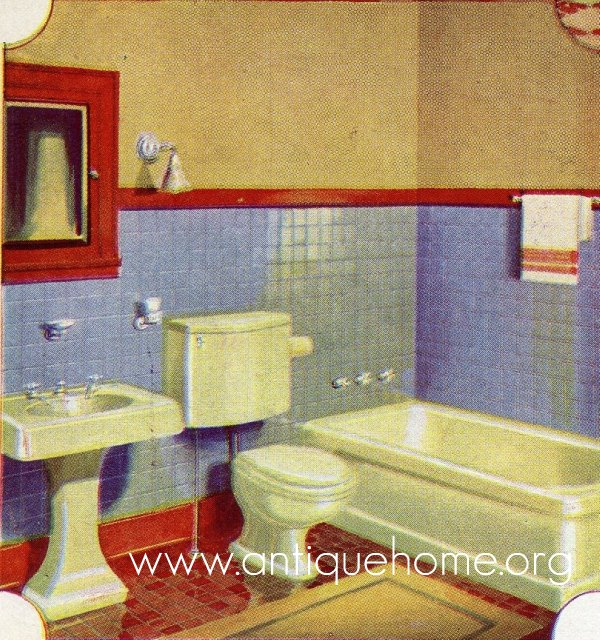 1930 Bathroom Design Ideas Of 1930 Bathroom Gordon Van Tine Catalog 1930s Bath