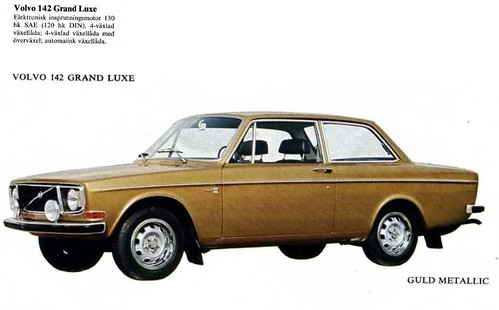 Volvo 142 Grande Luxe 1971 Europe Specifications