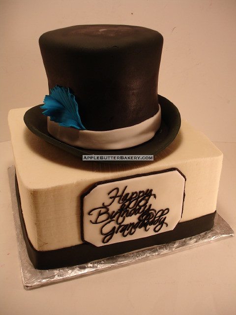Top Hat Cake Www Applebutterbakery Com Apple Butter