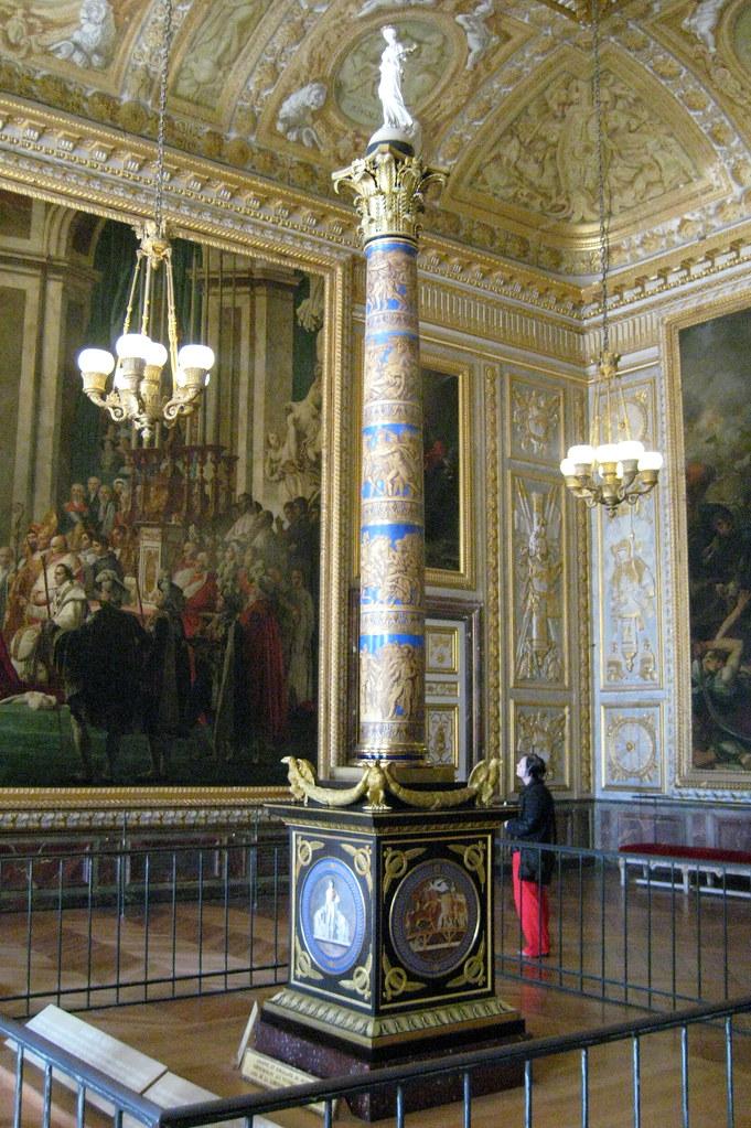 Versailles Ch 226 Teau De Versailles Salle Du Sacre Colu