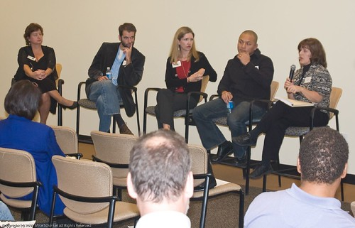 The Panel on Search Engine Marketing during Q&A | by MikeSchinkel