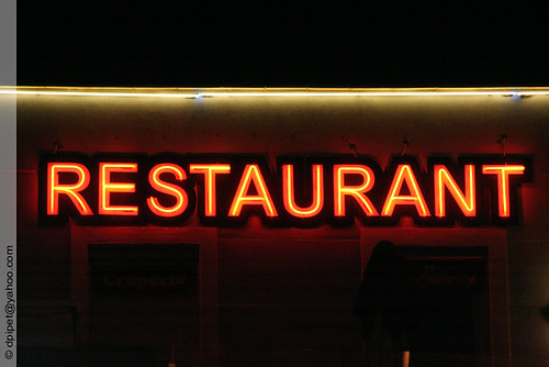 enseigne lumineuse restaurant enseigne lumineuse restauran flickr. Black Bedroom Furniture Sets. Home Design Ideas