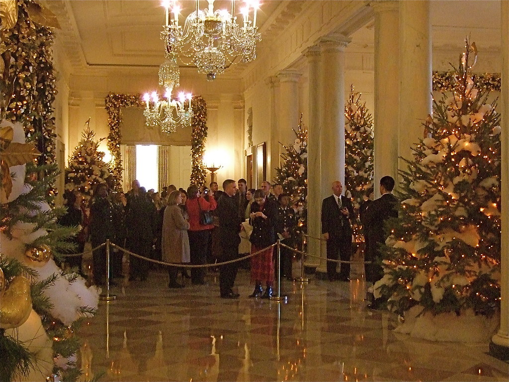 Holiday Hallway, White House | catface3 | Flickr