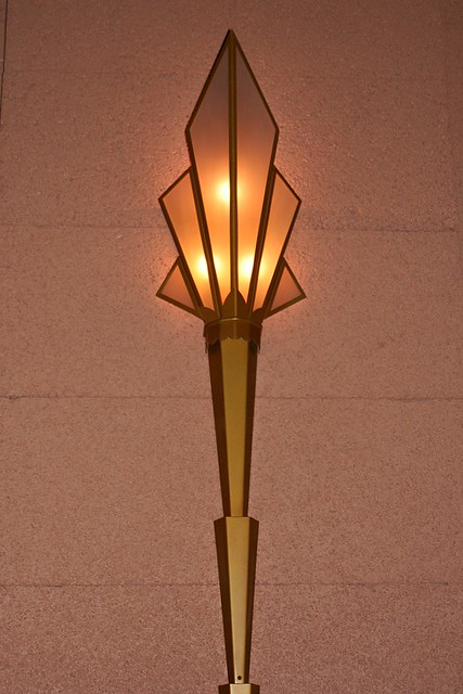 Art Deco Light In The Fox Theater Erin Flickr