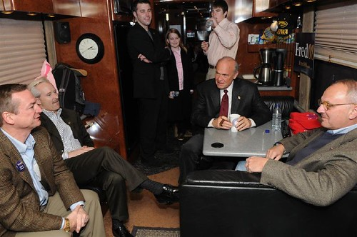 On the Fred '08 tour bus | by freddthompson