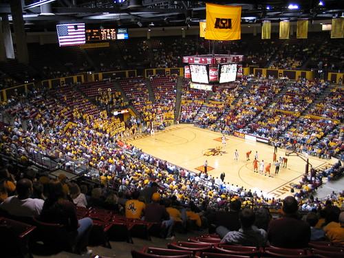Wells Fargo Arena, Tempe, AZ | ASU v. Oregon State | David Crummey | Flickr