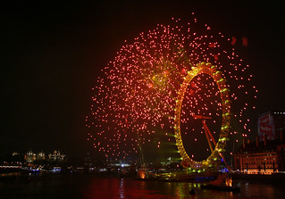 london eye: new year 2007/8 | by heartreef