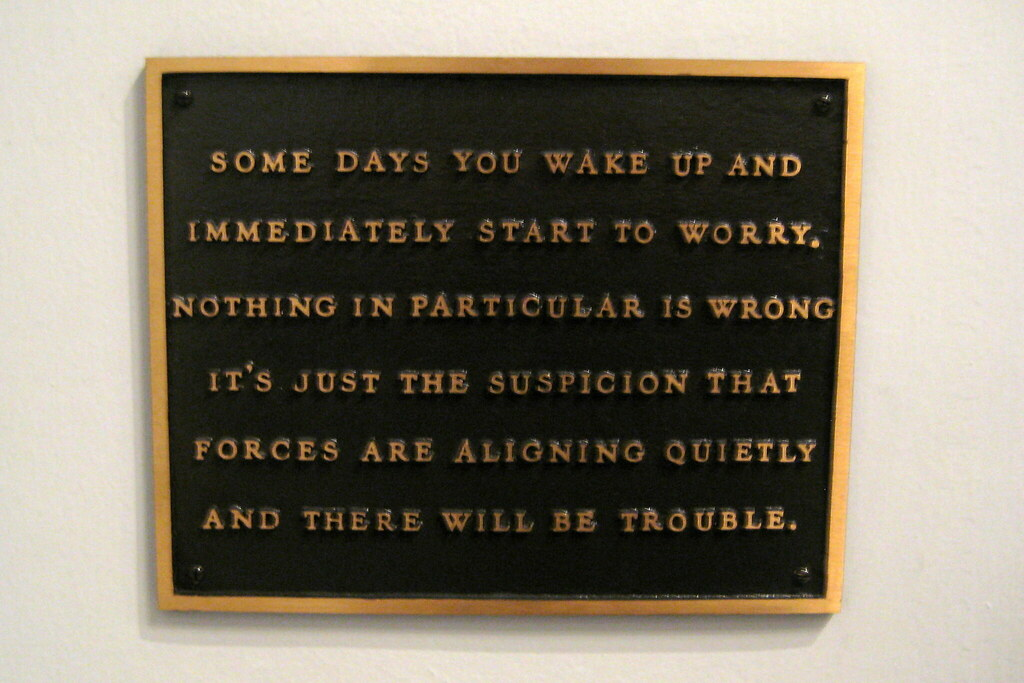 MoMA: Jenny Holzer's Living: Some Days You Wake And