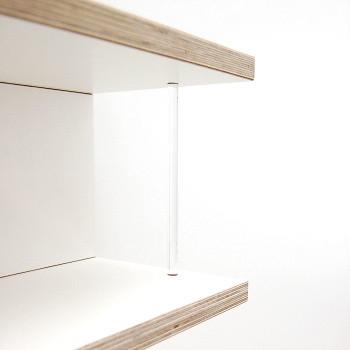 Cd Regal Storit Weiss Mit Acrylglas Cd Storage White Flickr
