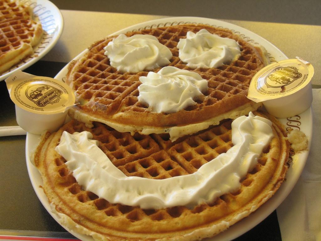 Smiley Breakfast From Waffle House Jessica Casamassa