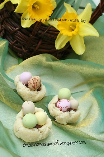 No-Bake Easter Coconut Nest Filled with Chocolate Eggs ...