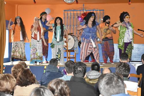 Actuación de Carnaval en la A.V. Vijaldón