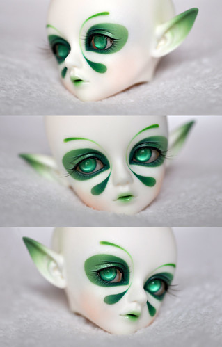 Preview - Luts Cherry Elf for Mechakal fantasy faceup | by ***Andreja***