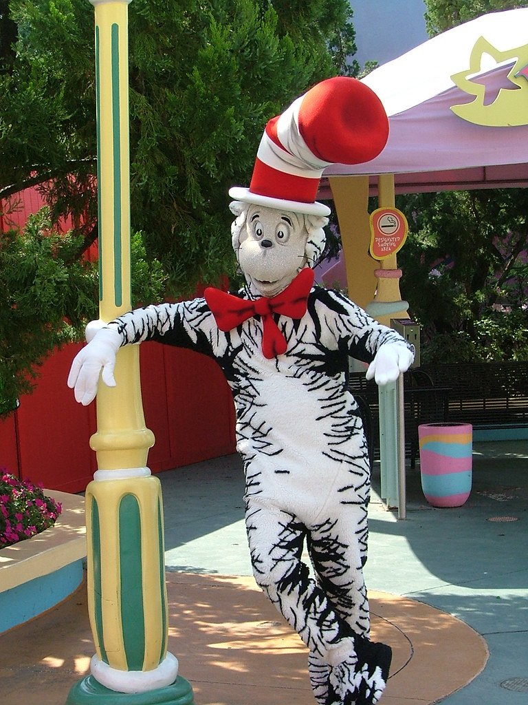 Cat In The Hat Rides At Universal Studios