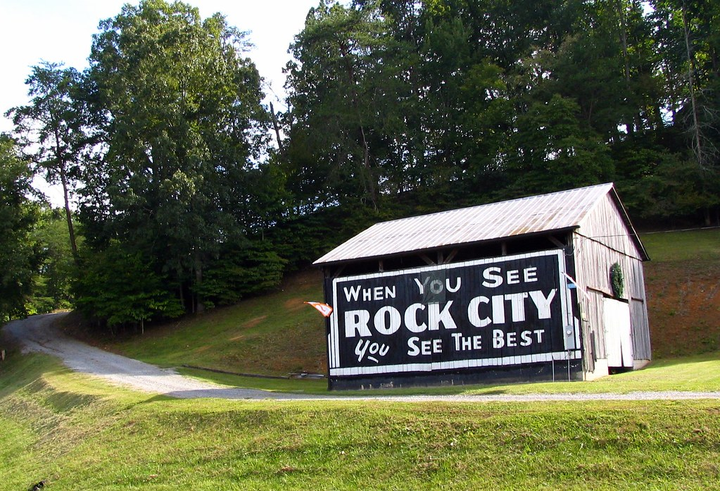 When You See Rock City You See The Best This Is Along