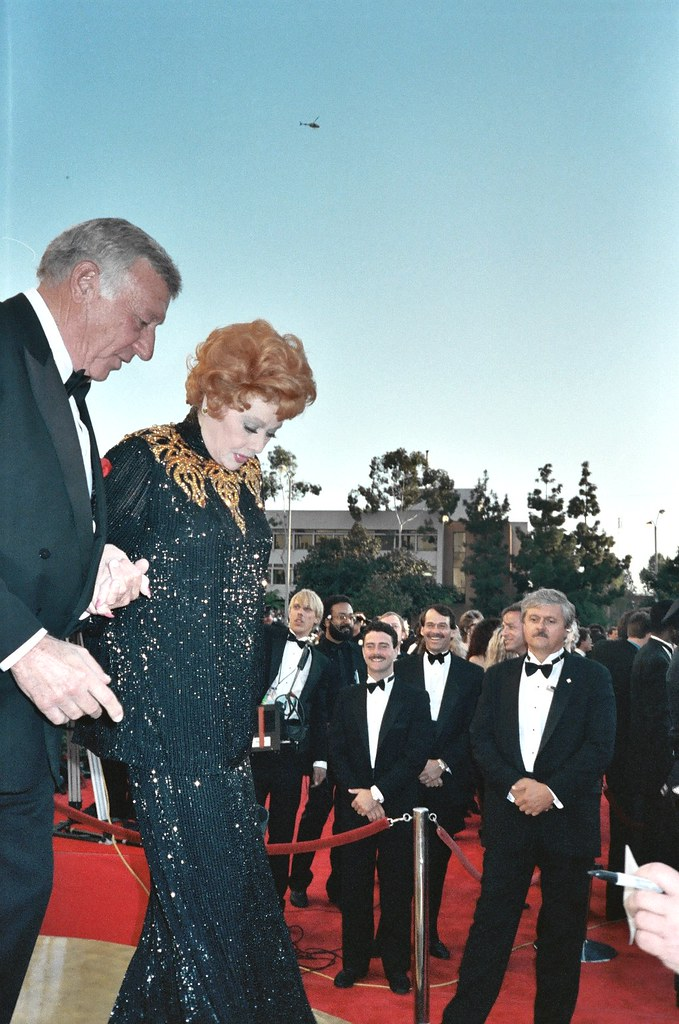 Gary Morton And Lucille Ball 61st Annual Academy Awards