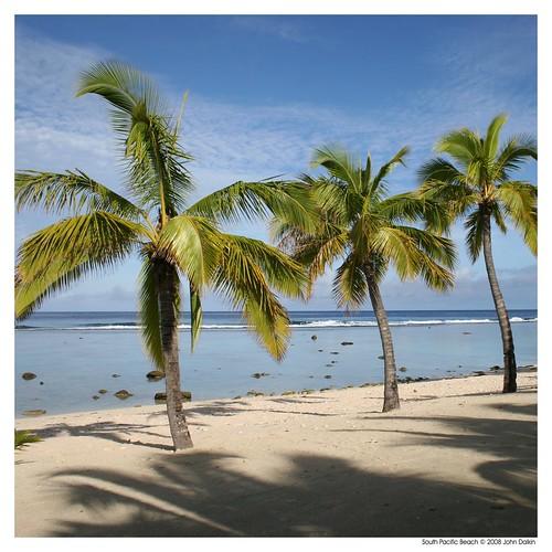 South Pacific Beaches: Rarotonga Island, The Cook Islands