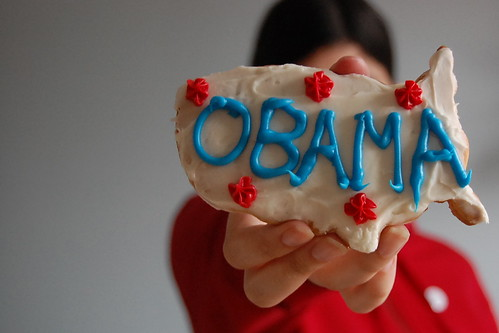 Obama cookie | by Mary...