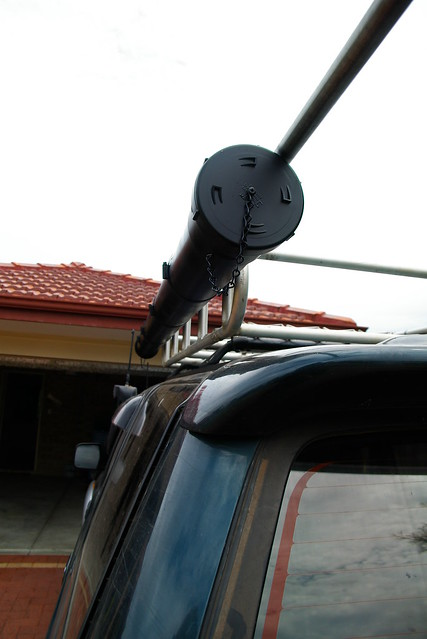 Surf fishing rod holder flickr photo sharing for Surf fishing rod holders