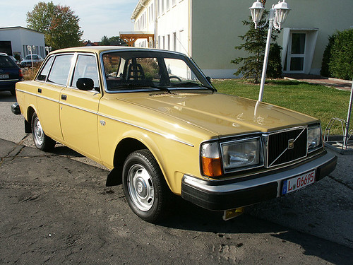 volvo 244 DLS east gremany 1977 right front | Special order … | Flickr