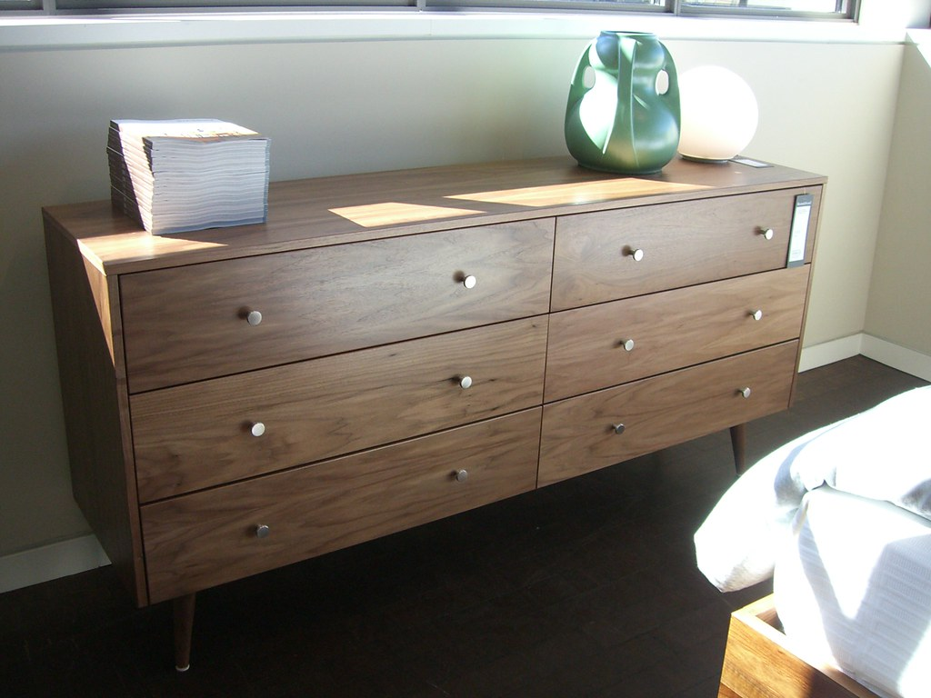 room and board dresser six drawer lowry dresser at room board by squiggle flickr