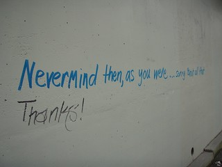Nevermind | by .daydreamer.