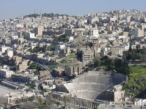 Roman Theater Amman View from Citadel | by amanderson2