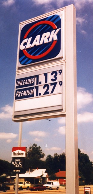 Gas Station Prices Clark Beech Grove Indiana $1 13 199