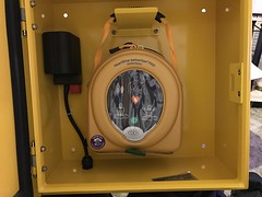AED in the Cabinet (Open)