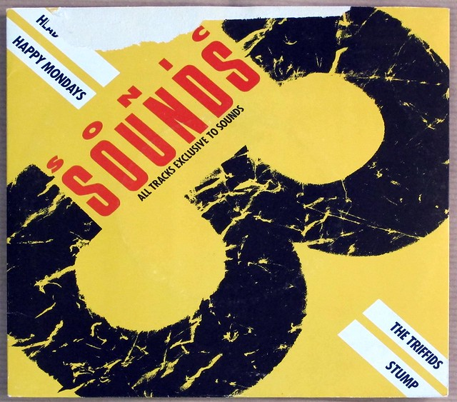 "SONIC SOUNDS 3 HEAD / HAPPY MONDAYS / THE TRIFFIDS / STUMP 7"" 33RPM PS EP VINYL"