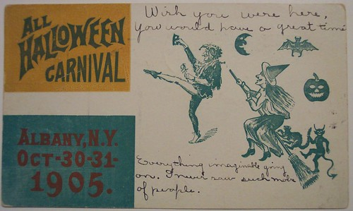 Vintage Halloween Postcard | by riptheskull