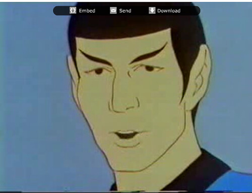 Spock, From The Star Trek Cartoon, Which Is Actually Very -6712