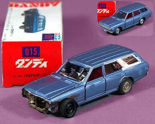 1 40 Scale Datsun Nissan 260 Estate Banger Model Car
