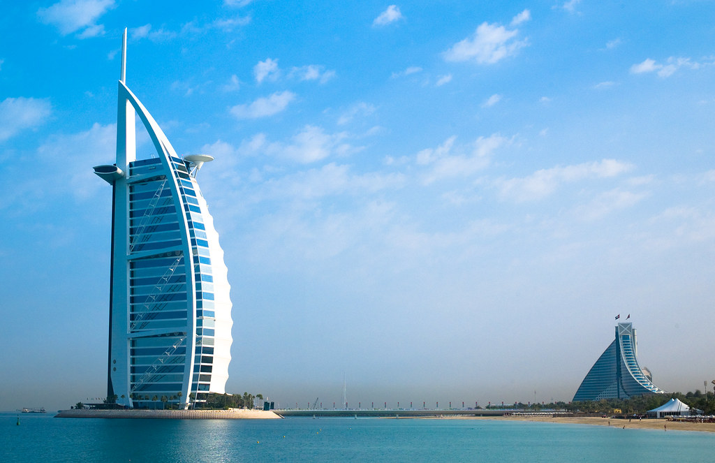 Burj al arab dubai 39 s seven star hotel joi ito flickr for Star hotels in dubai