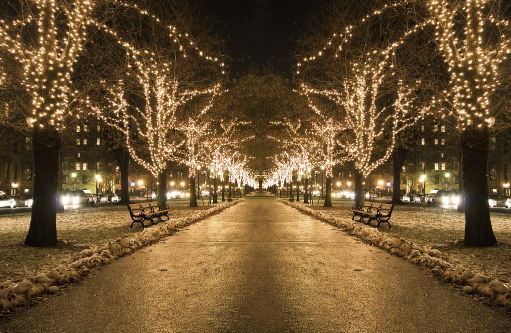 Christmas Lights In Massachusetts