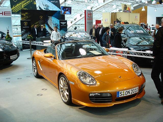 Porsche Boxster A Orange Porsche Boxster 987 With Extras