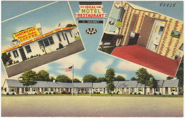 Ideal Motel Restaurant  File name: 06_10_003971 Title: Idea…  Flickr