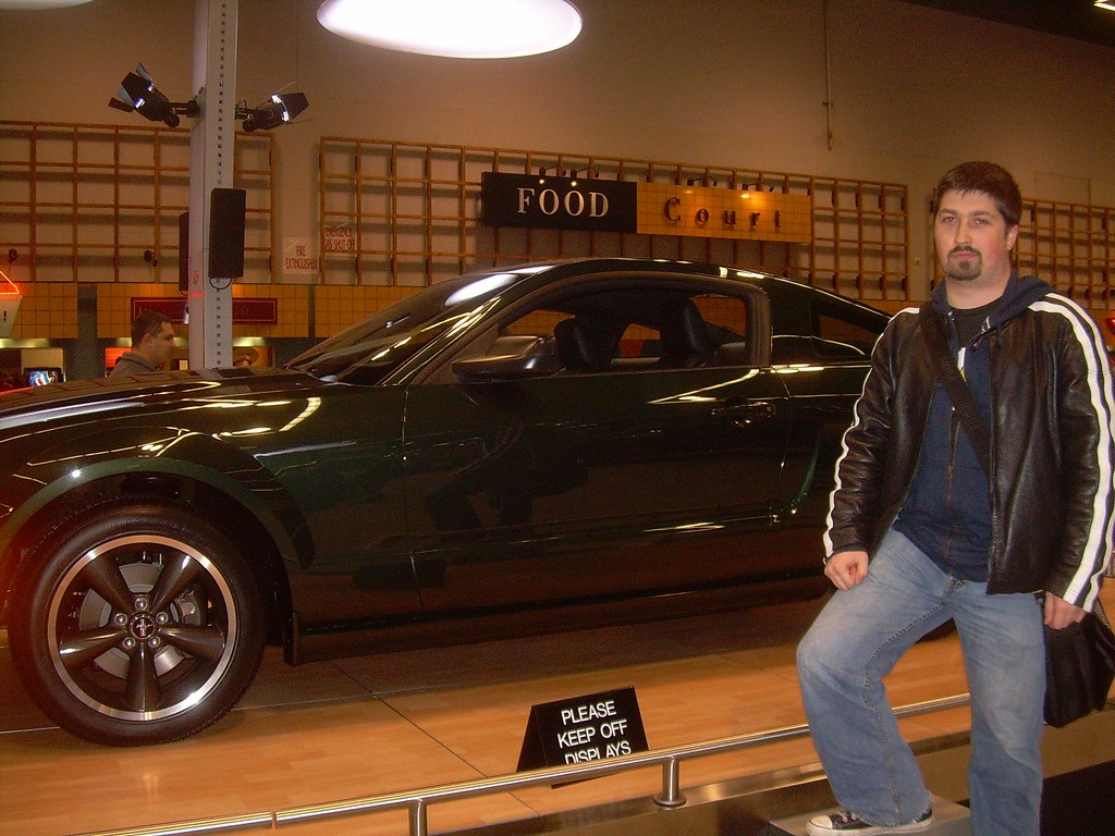 Portland Auto Show 2008 Me And The Bullitt Mustang 2008