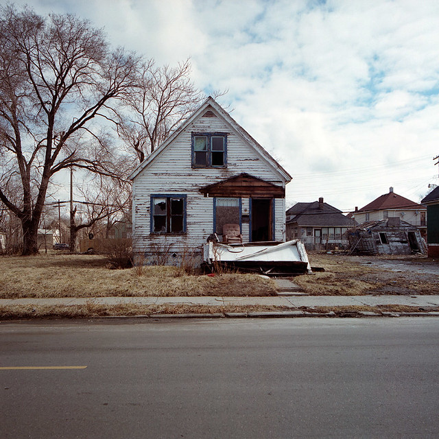 Abandoned house in detroit michigan part of a series of for Building a home in michigan
