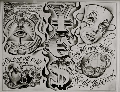 money tats | Nick Schafer | Flickr