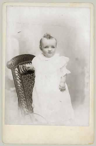 Cabinet Card Small Child on chair